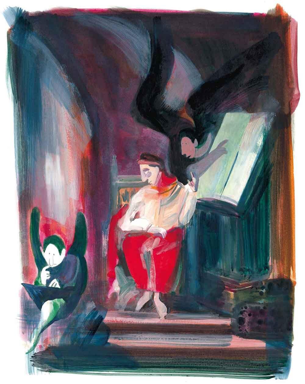 10 Catherine Meurisse Delacroix Dargaud 2019 Hintergrund bearbeitet