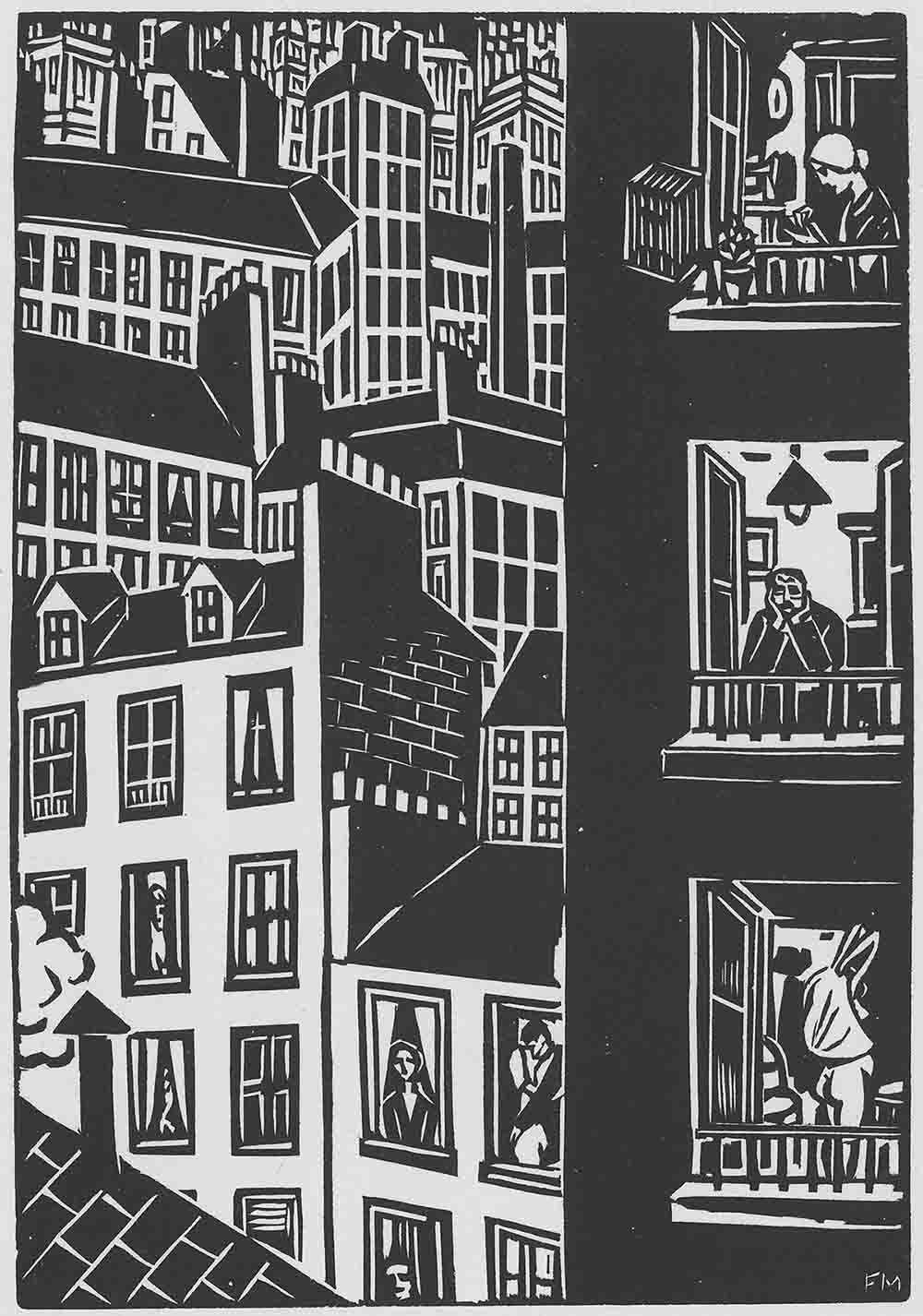 11 Big City Life Frans Masereel Die Stadt 1925 Web