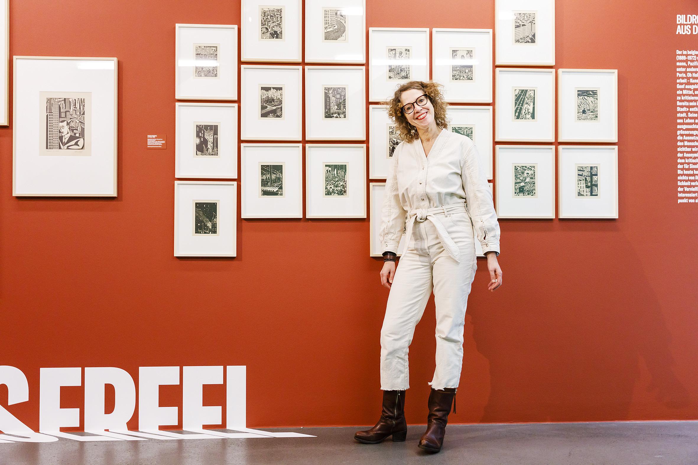 Kuratorenführung Anette Gehrig Big City Life Ausstellung