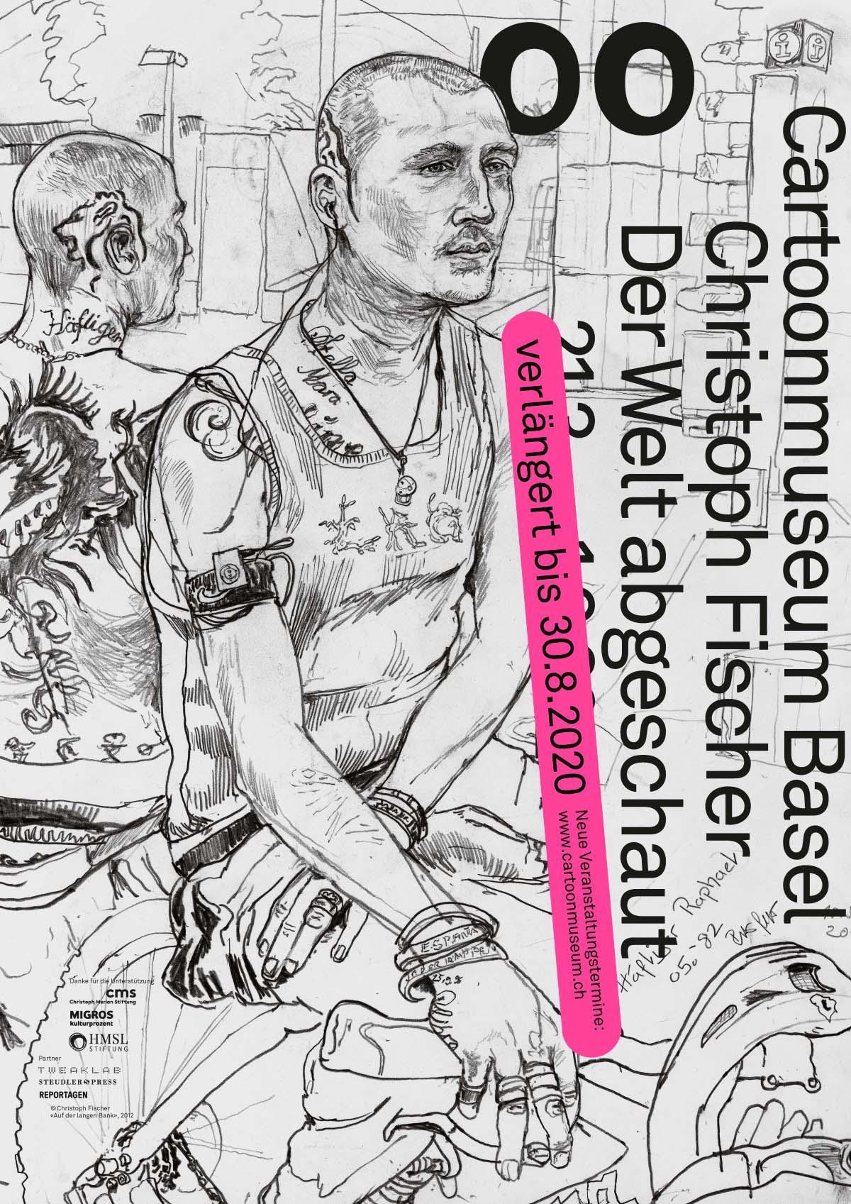 Christoph Fischer Plakat Verlängerung Ausstellung
