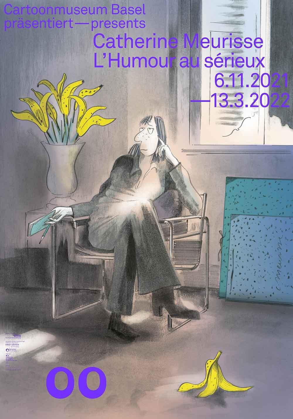 00 Ausstellungsplakat Catherine Meurisse