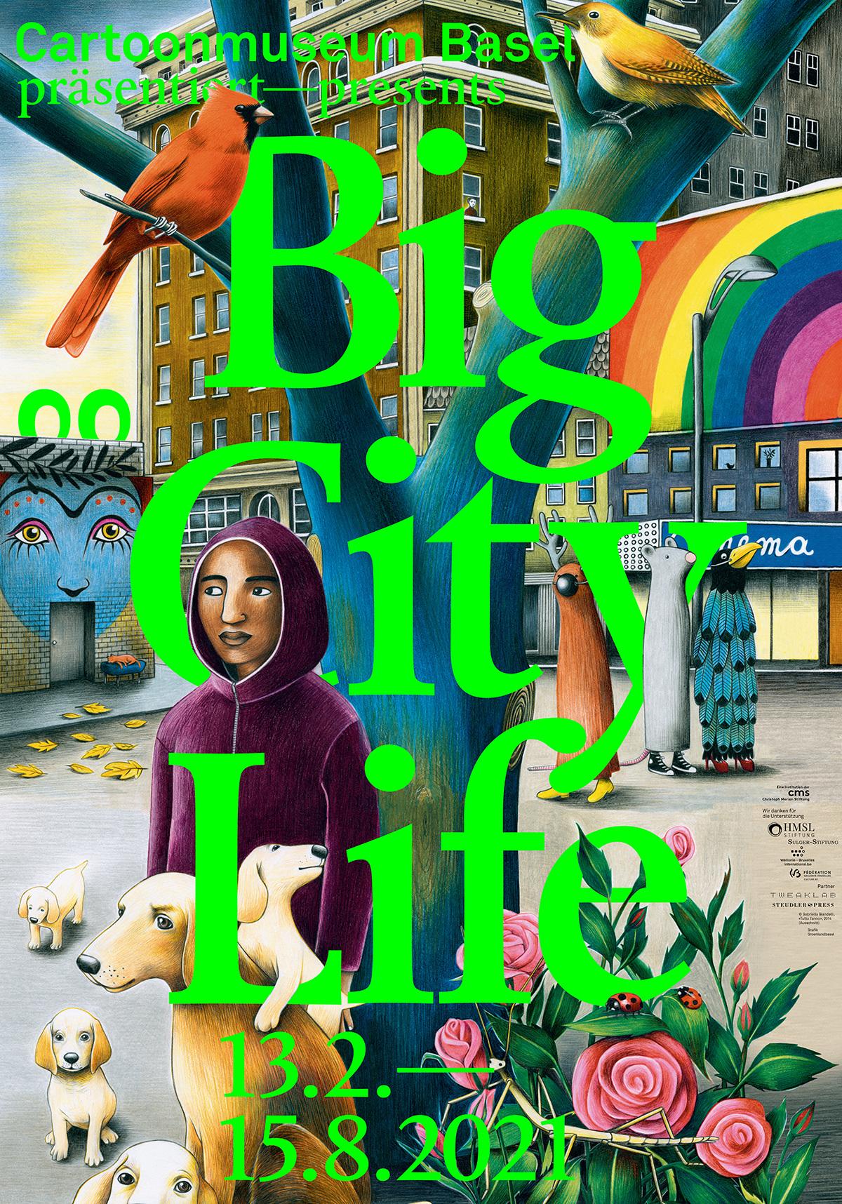0 Big City Life Plakat Verlängerung